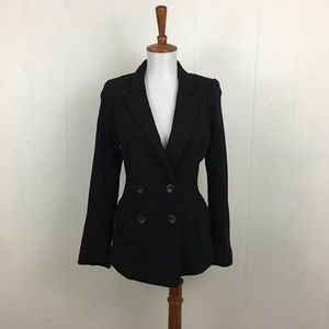 Cartonnier Anthro Double Breasted Blazer Jacket